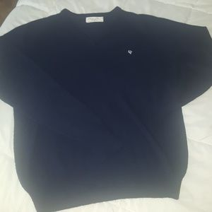 Christian Dior Vintage navy blue Vneck sweater